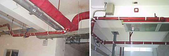 消防专用电伴热带在地下车库的应用